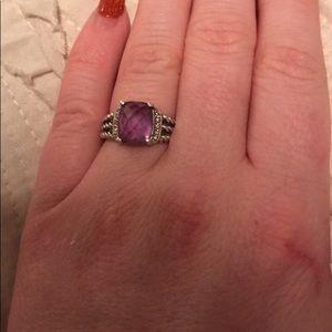 David Yurman Petite Wheaton Ring Size 5